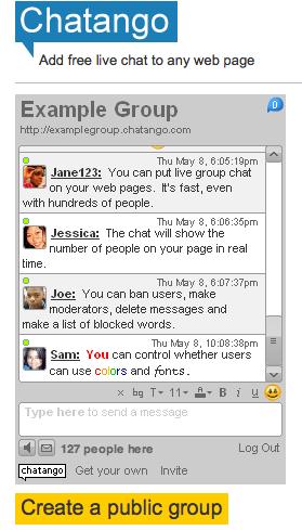 "[Tutorial] Un chat distinto al de xat.com - ""Chatango"" Chatango-add-free-live-chat-to-any-webpage_1241041678644"